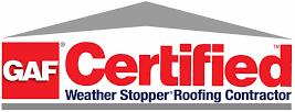 GAF Certified Roofing Logo